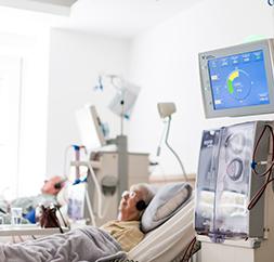 Dialyse im Ärztezentrum Ostend 90